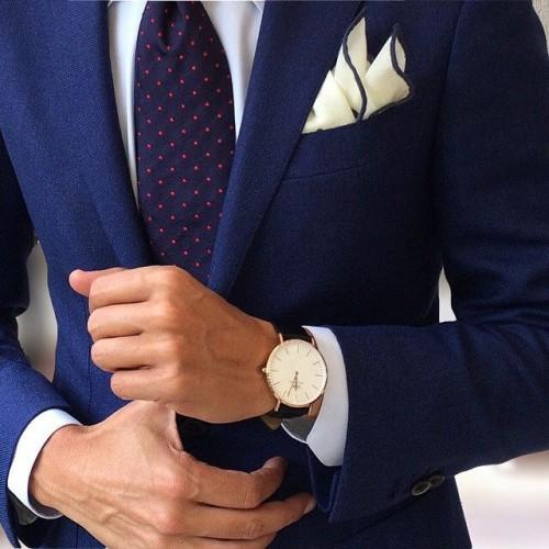 スーツ時計